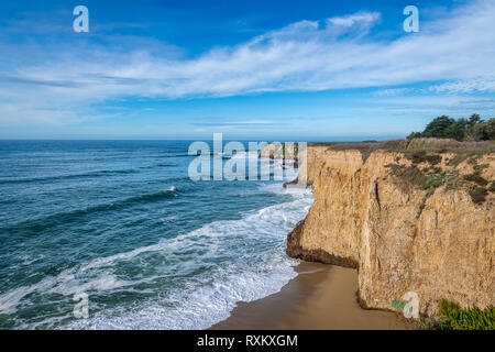 The Davenport Pier ruins - Stock Photo