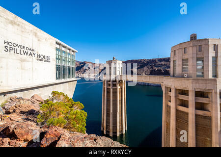 The Hoover Dam - Stock Photo