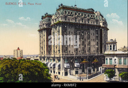 Plaza Hotel, Buenos Aires, Argentina - Stock Photo