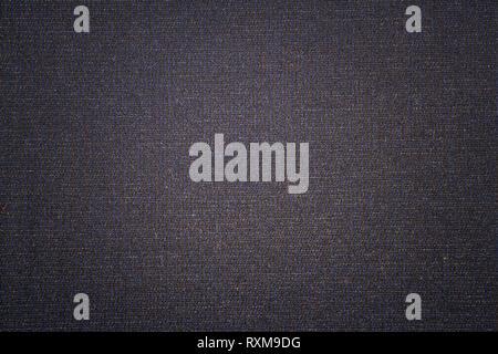 Dark blue  fabric texture background. Dark woven clothing material - Stock Photo