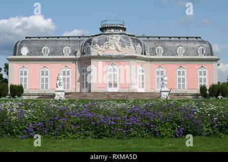 Schloss Benrath - Benrath Palace - Stock Photo