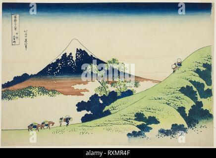 Fine Art Print Japanese Art Hiroshige Inume Pass in Kai 36 Views of Fuji