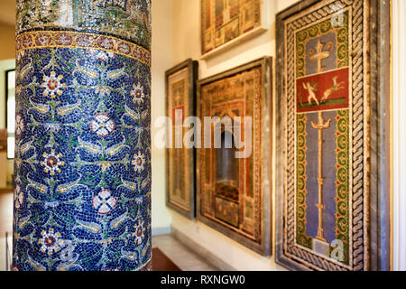 Naples Campania Italy. The National Archaeological Museum of Naples (Museo Archeologico Nazionale di Napoli) is an important Italian archaeological mu - Stock Photo