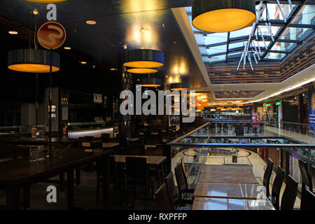 Food Hall in the centre of West Berlin near Potsdamer Platz, Berlin - Stock Photo