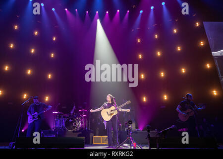 London, UK. 10th Mar 2019. Ashley McBryde on day 3 of C2C: Country to Country at,   O2 Arena, Credit: Jason Richardson / Alamy Live News - Stock Photo