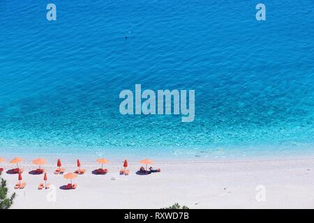 Apella Beach, Karpathos Island, Greece - Stock Photo