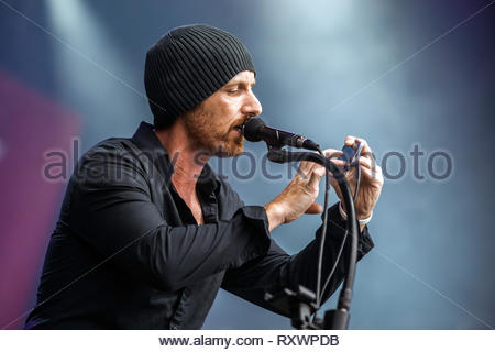 BESS performing live, 11 july 2014 - Stock Photo