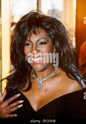 Mary Wilson American singer and former member of the group Supremes visiting Stockholm as solo artist - Stock Photo
