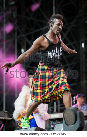 FFF performing live, 12 july 2014 - Stock Photo