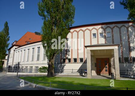 Max-Planck-Gesellschaft Tagungsstaette Harnack-Haus, Ihnestrasse, Dahlem, Berlin, Deutschland, Tagungsstätte - Stock Photo