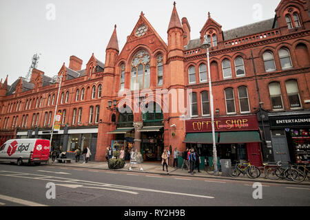 Georges street arcade on south great georges street in the cultural quarter of Dublin former south city markets Republic of Ireland Europe - Stock Photo