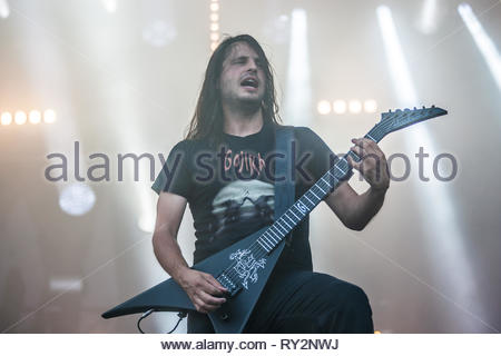 GOJIRA performing live, 10 juillet 2015 - Stock Photo
