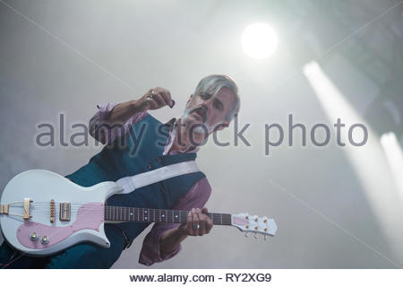 TRIGGERFINGER performing live, 13 july 2015 - Stock Photo