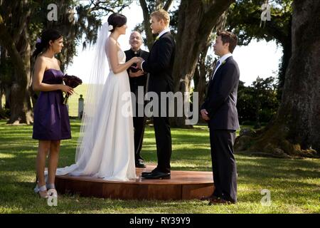 SZOHR,MOORE,EDES,LUTZ,WESTON, LOVE  WEDDING  MARRIAGE, 2011 - Stock Photo