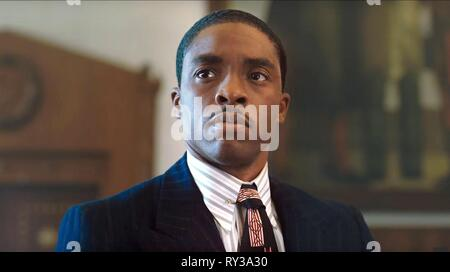 CHADWICK BOSEMAN, MARSHALL, 2017 - Stock Photo