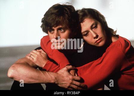 BARYSHNIKOV,MIRREN, WHITE NIGHTS, 1985 - Stock Photo
