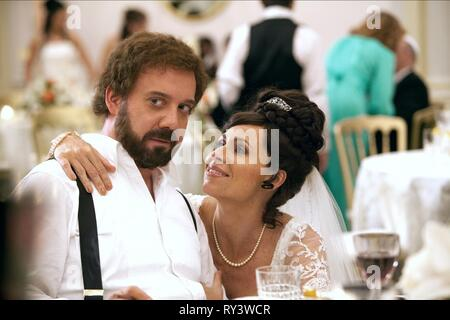 GIAMATTI,DRIVER, BARNEY'S VERSION, 2010 - Stock Photo