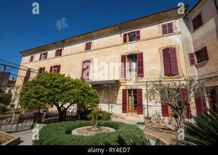 Residencia de Personas Mayores Posada Dels Olors Gestión Pública in Arta, Majorca (Mallorca), Balearic Islands, Spain - Stock Photo