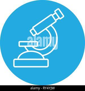 laboratory tool microscope - Stock Photo