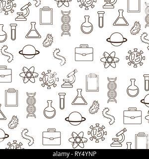 background laboratory science - Stock Photo