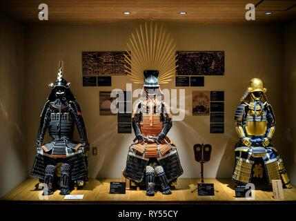 Japan, Honshu island, Kanto, Tokyo, Samurai Museum, armor - Stock Photo