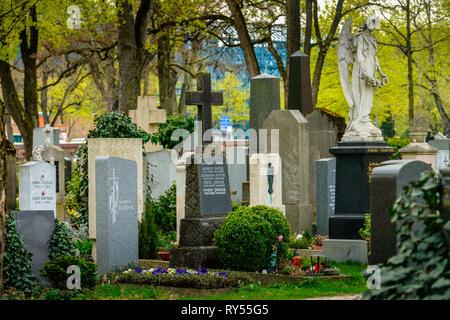 Nordfriedhof, Ungererstrasse, Muenchen, Bayern, Deutschland