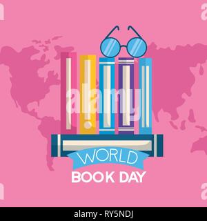 world book day - Stock Photo