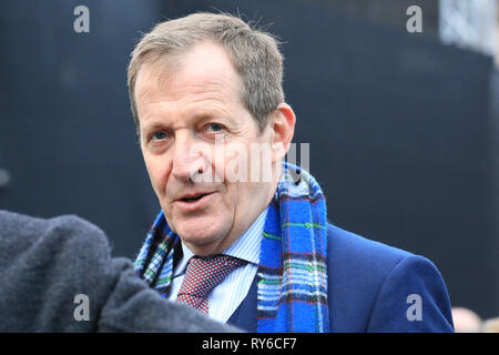Westminster, London, UK. 12th Mar, 2019. Alastair Campbell, journalist, broadcaster, political aide and author, and former Downing Street Press Secretary under Tony Blair. Credit: Imageplotter/Alamy Live News - Stock Photo