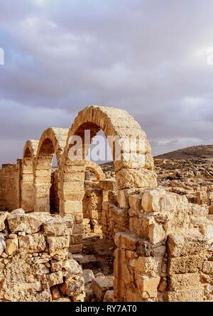 Umm ar-Rasas Ruins, Amman Governorate, Jordan - Stock Photo