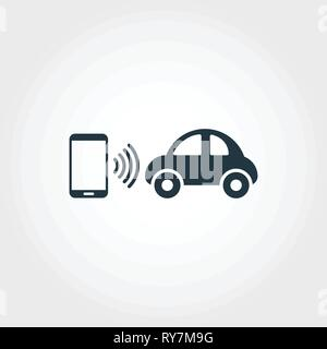 Mobility creative icon. Monochrome style design from urbanism icons collection. Mobility icon for web design, apps, software, print usage - Stock Photo