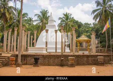 Asia, Sri Lanka, Mihintale, Ambasthala Dagaba - Stock Photo