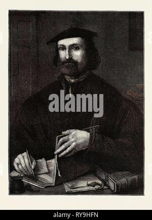 Ludovico Ariosto, Born September 8, 1474, Died June 6, 1533 - Stock Photo