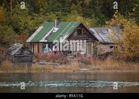Carcross, Southern Lakes Region, Yukon Territory, Canada - Stock Photo