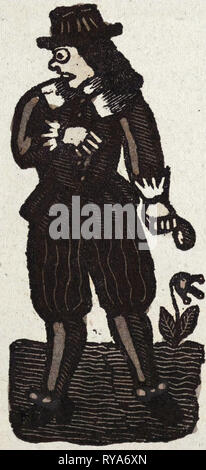 Illustration of English Tales Folk Tales and Ballads - Stock Photo