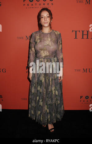 Los Angeles, USA. 12th Mar 2019. Gideon Adlon 03/12/2019 The Special Screening of 'The Mustang' held at The ArcLight Hollywood in Los Angeles, CA Photo by Izumi Hasegawa/HollywoodNewsWire.co Credit: Hollywood News Wire Inc./Alamy Live News - Stock Photo