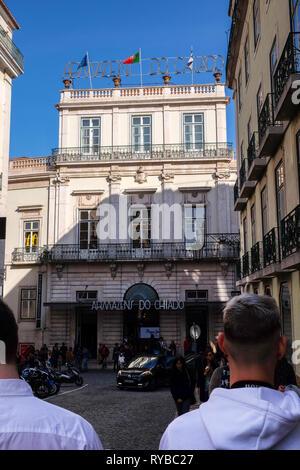 Armazens do Chiado, shopping centre, store, R. Nova do Almada, Lisbon, Portugal - Stock Photo