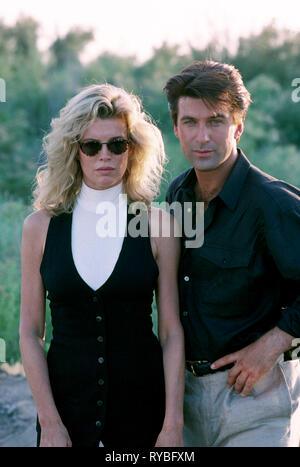 KIM BASINGER, ALEC BALDWIN, THE GETAWAY, 1994 - Stock Photo