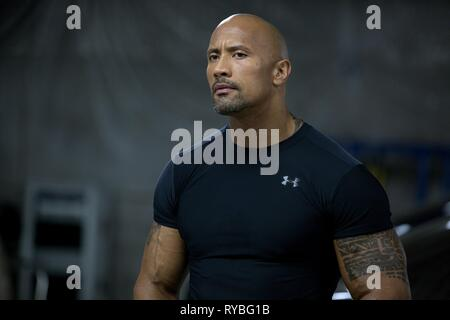 DWAYNE JOHNSON, FAST and FURIOUS 6, 2013 - Stock Photo