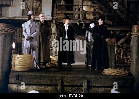 STUART TOWNSEND, SEAN CONNERY, SHANE WEST, TONY CURRAN,PETA WILSON, THE LEAGUE OF EXTRAORDINARY GENTLEMEN, 2003 - Stock Photo