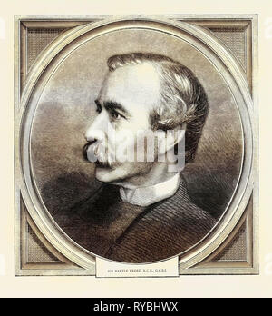 Sir Bartle Frere, K.C.B., G.C.S.I - Stock Photo