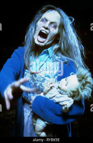 STACIE FOSTER, NIGHT OF THE LIVING DEAD, 1990 - Stock Photo