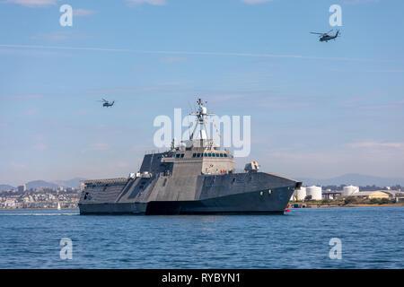 USS Independence Littoral Combat Ship - Stock Photo