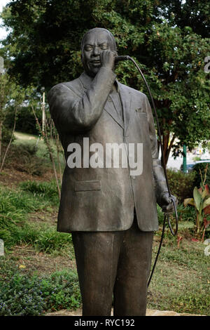 Bobby blue Bland statue Memphis Tennessee - Stock Photo