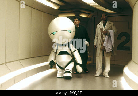 ANDRIOD MARVIN, MARTIN FREEMAN,MOS DEF, THE HITCHHIKER'S GUIDE TO THE GALAXY, 2005 - Stock Photo