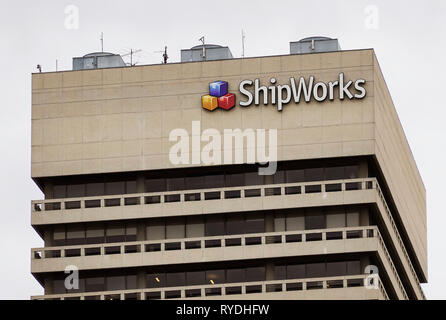 ShipWorks office and headquarters St. Louis Missouri - Stock Photo