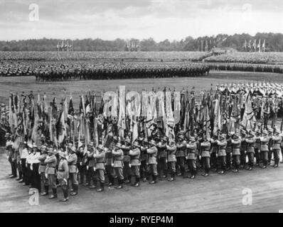 Nazism / National Socialism, party rallies, Rally of Freedom, Nuremberg, 10.9. - 16.9.1935, Additional-Rights-Clearance-Info-Not-Available - Stock Photo