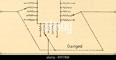 Electronic apparatus for biological research  electronicappara00dona Year: 1958  RESISTANCES    Figure 2.33 Ganged â --____ - Stock Photo