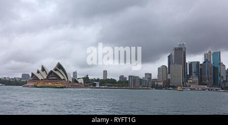 Visit Australia.  The Sydney Opera House is a multi-venue performing arts centre,  Sydney, New South Wales  Australia - Stock Photo