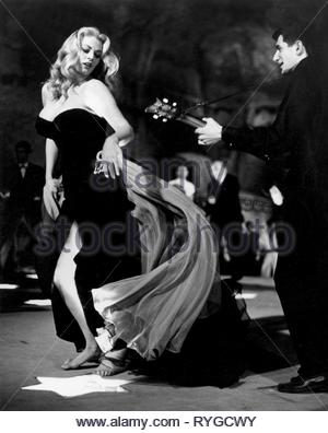 ANITA EKBERG, LA DOLCE VITA, 1960 - Stock Photo