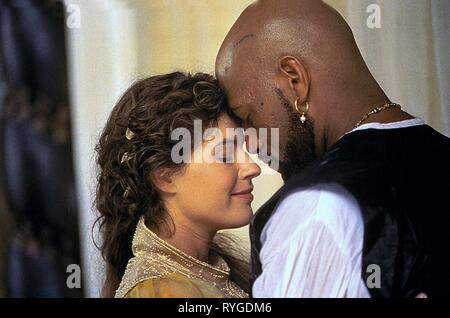 IRENE JACOB, LAURENCE FISHBURNE, OTHELLO, 1995 - Stock Photo